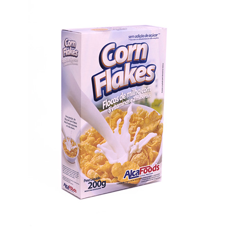 Imagen de Cereal Corn Flakes AlcaFoods 200 Gr.