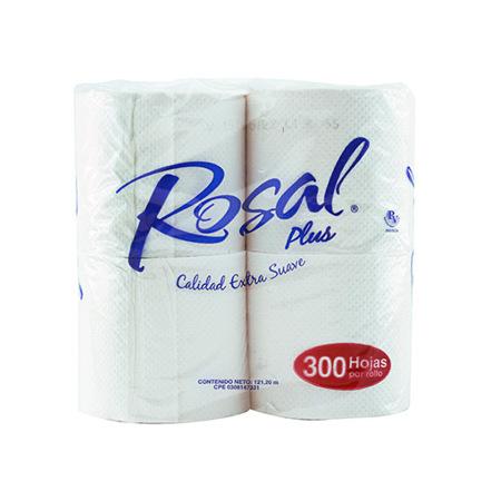 Imagen de Papel Higienico Rosal Plus 300 Hojas.