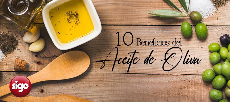 10 Beneficios del Aceite de Oliva