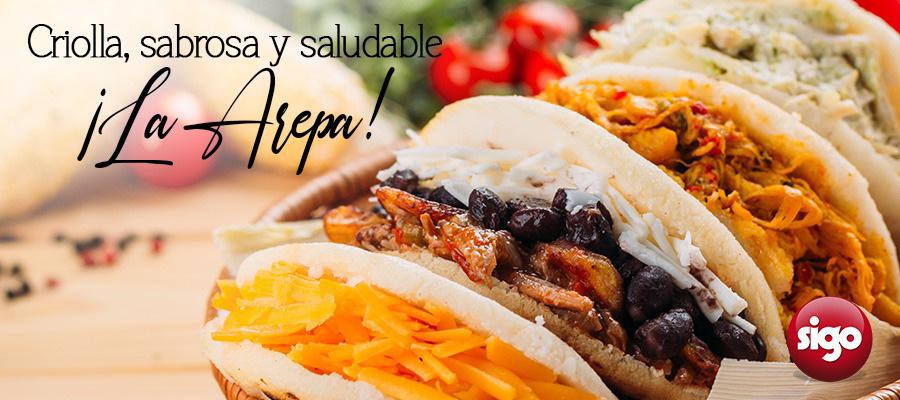 Criolla, sabrosa y saludable ¡La Arepa!