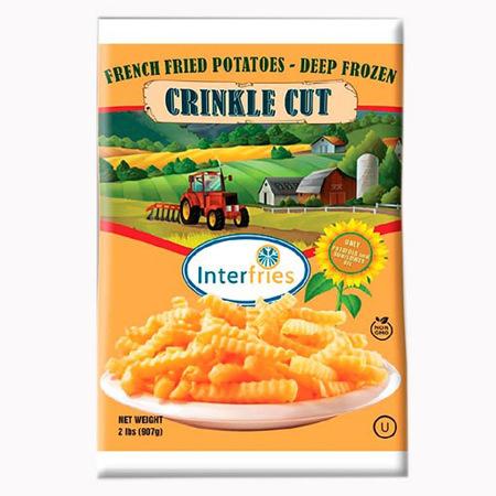 Imagen de Papas Congeladas Crinkle Cut 907 Gr.